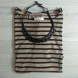 Madewell Fall Striped Oversozed Shirt